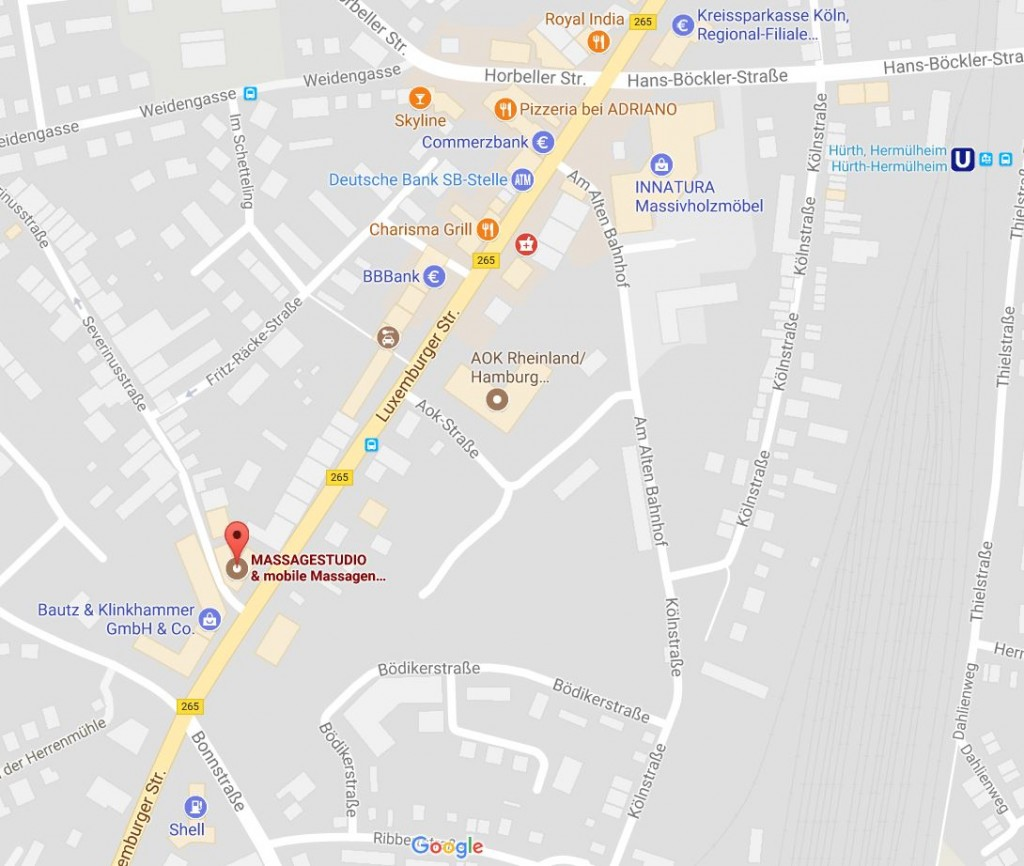 Google-Massagestudio